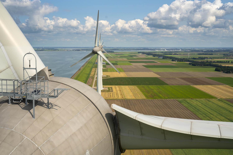 Inspectie windturbines