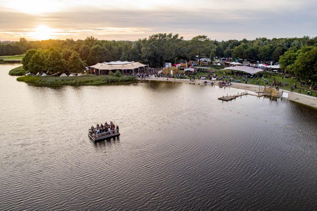 Luchtfoto's festivals Groene Ster