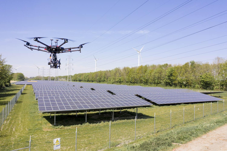 Inspectie meerdere zonneparken in Nederland