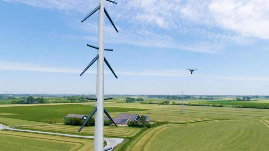 Tennet - inspectie masten met drone